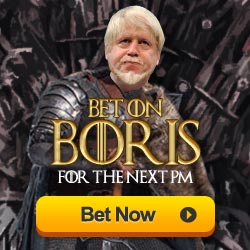 Bet on Boris for the next Prime Minister