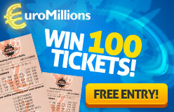 EuroMillions Mega Friday Ticket Giveaway