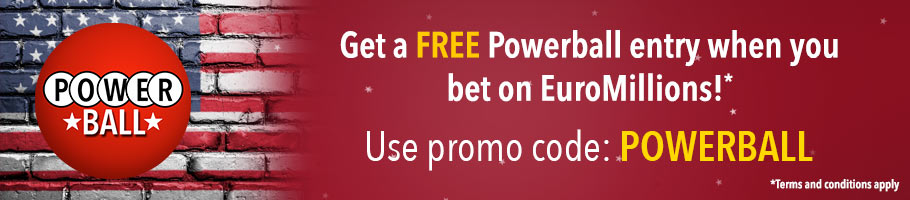 Get a free Powerball entry when you bet on EuroMillions