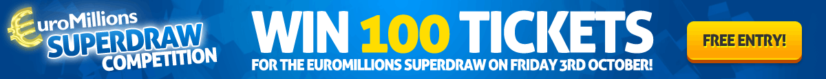 Enter our EuroMillions Superdraw Competition