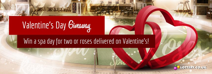 Enter the Valentine's 2016 Giveaway for the chance to win one of two great prizes.
