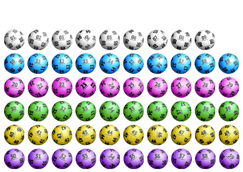 Ball Colours 1 to 59